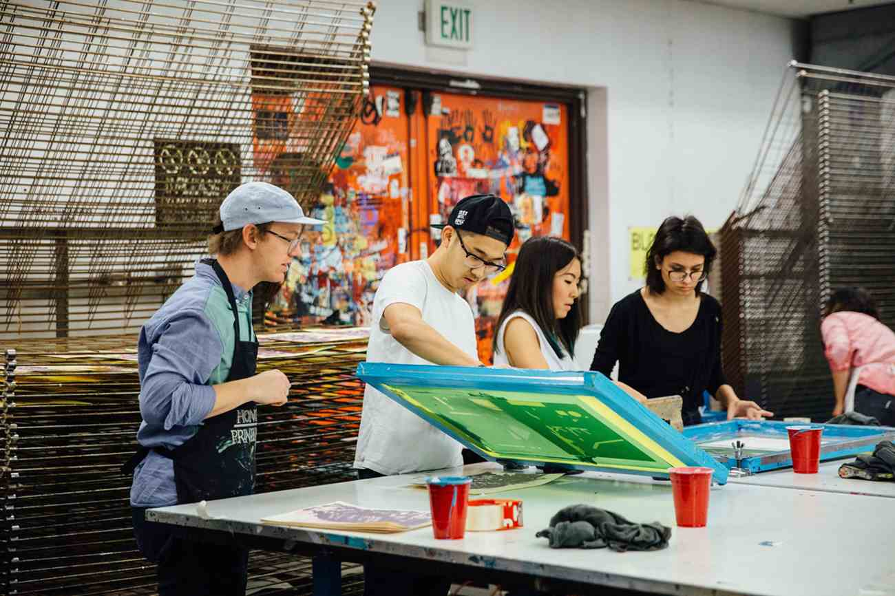 Practicum course on Printmaking